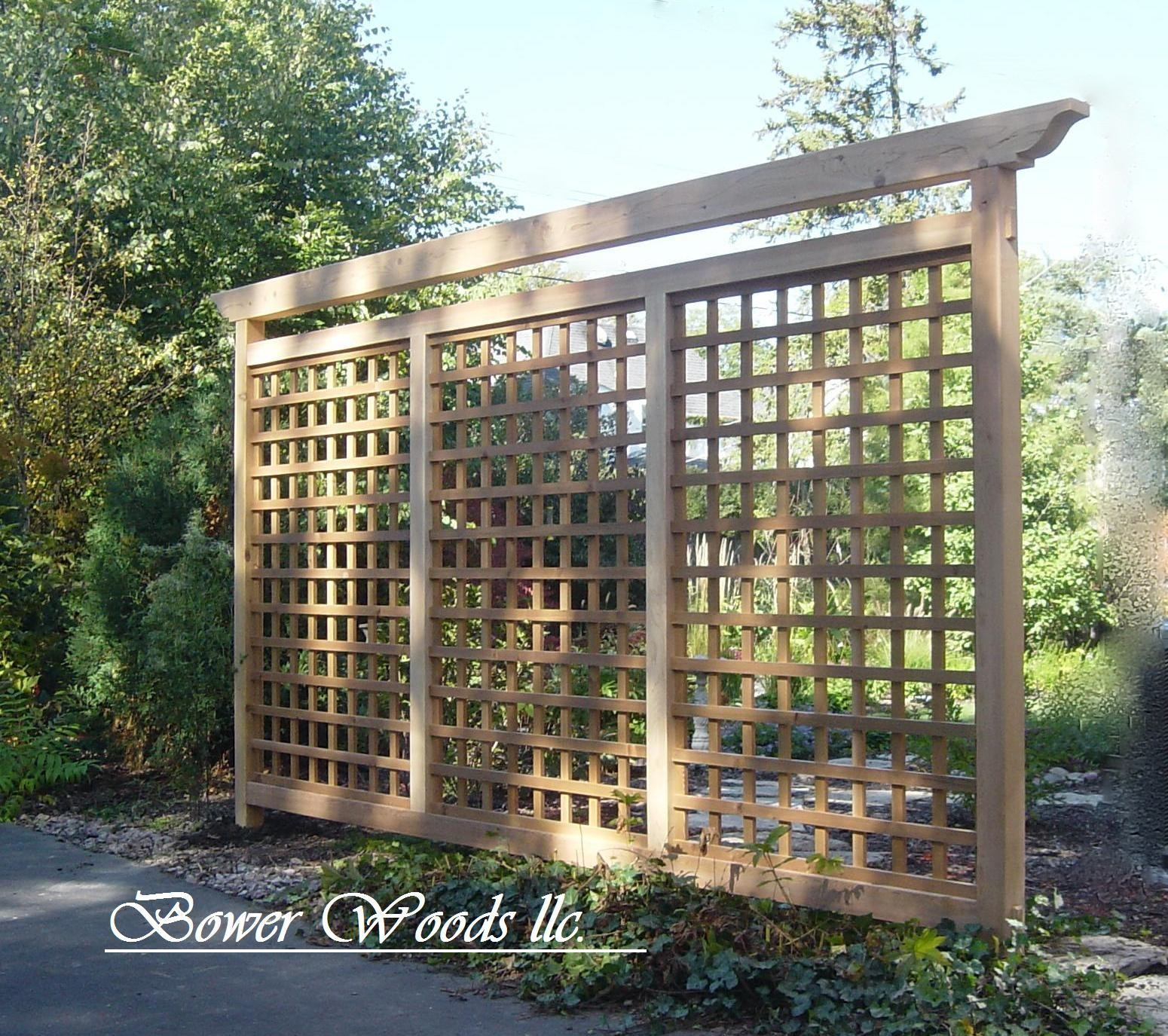 Build Custom Home Online Bower Woods Llc Custom Garden Structures Tuscan Trellis